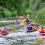 Patarimai plaukiant upėse su baidarėmis