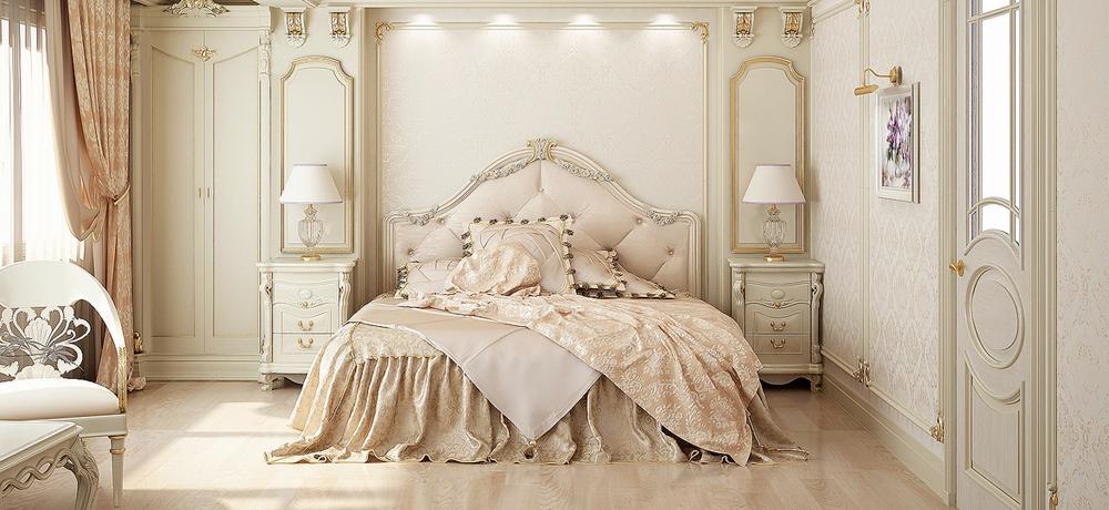 Miegamojo interjeras