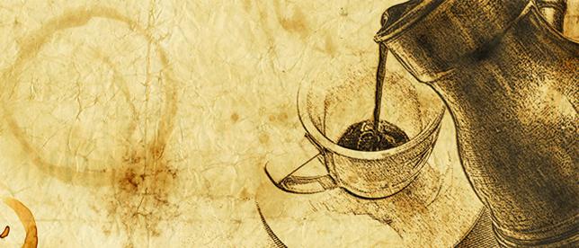 burimas is kavos tirsciu