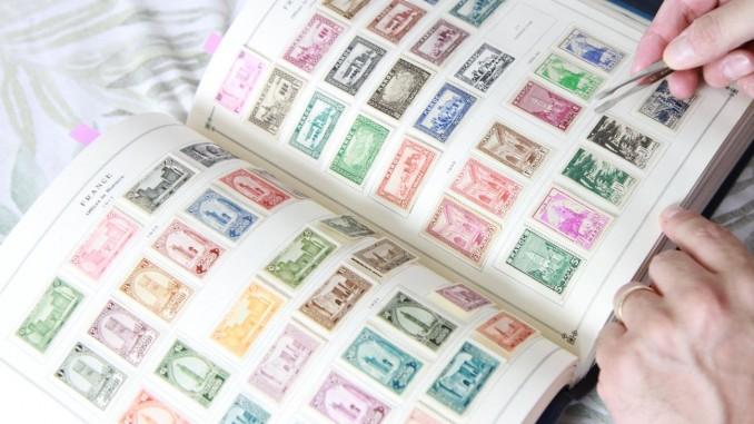 kaip kolekcionuoti pašto ženklus