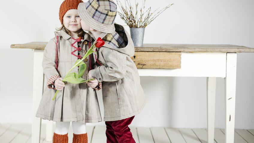 mergaičių apranga šaltuoju metų sezonu